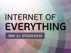 Internet of Everything 11 maj Stockholm